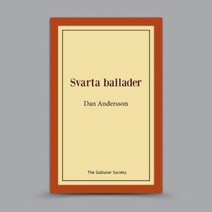 Dan Andersson: Svarta ballader