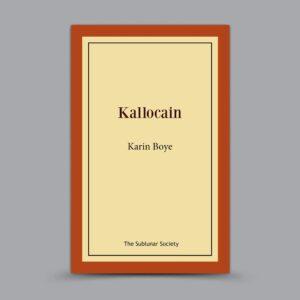 Karin Boye: Kallocain