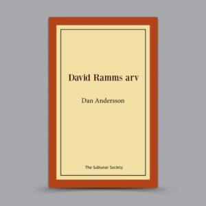 Dan Andersson: David Ramms arv