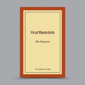 Ola Hansson: Svartkonsten