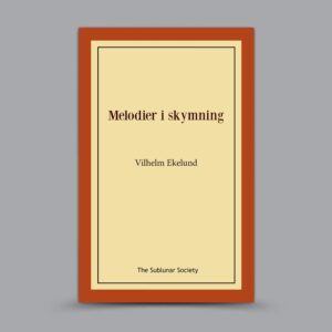 Vilhelm Ekelund: Melodier i skymning