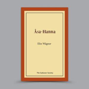 Elin Wägner: Åsa-Hanna